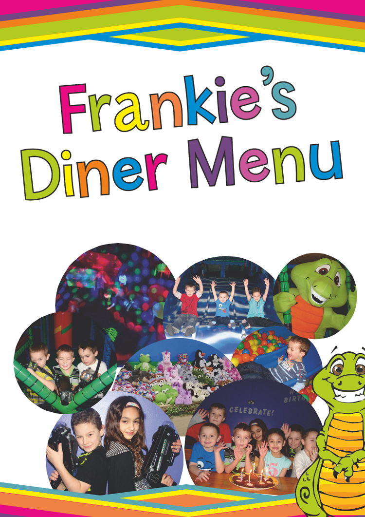 Come and see Frankie's diner menu